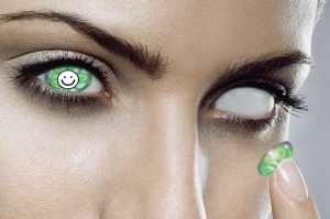 When Irish eyes are smiling... It can be damn scary.
