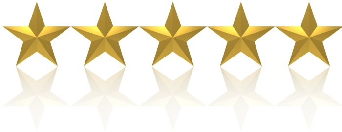 Image result for 5 out of 5 stars