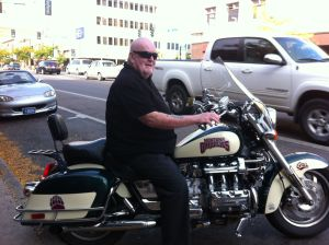 Bob's bike. There are no words.