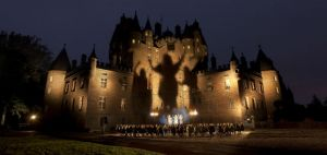 Halloween's Scottish Roots (Macbeth at Glamis Castle)