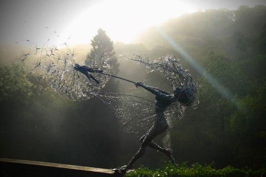 [Photo Credit: Dramatic Fairy Sculptures Dancing With Dandelions by Robin Wight]