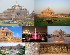 """The Eighth Wonder of the World""? Swaminarayan Akshardham [photo credit: Worldview Tours, http://goo.gl/GLn9dO]"