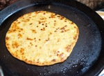 Roadside parathas. With butter. [moan]