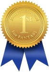 First Place for Fantasy: 2014 Pacific Northwest Writers Association International Literary Competition   http://www.pnwa.org/?page=2014contestwinners