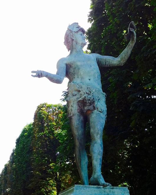 L'acteur grec by Charles- ARthur Bourgeios, Jardin du Luxembourg, Paris 1868