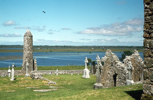 Figure 2 River Shannon at Clonmacnoise (c) Alan Murray