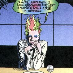 From Neil Gaiman's SANDMAN [The Sandman Omnibus Vol. 1 Hardcover – September 3, 2013, Vertigo]