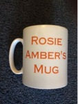 Rosie Amber's Friday Five Challenge. Get yourself a cuppa and give yourself 5 minutes.