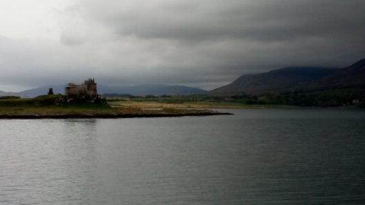 It's a short trip from Oban to the Isle of Mull, but on a blustery day it can be full of dramatic views like 13th century Duart Castle, home of Clan Maclean. The boat rolled and cheering passengers claimed to see dolphins.