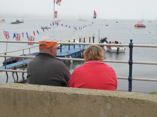 Ellen Hawley's photo: a couple by the beach in Swanage. I don't know if this qualifies as a lifestyle. Probably not, and I like them for it. [And yeah...stole that one too. From her post here]
