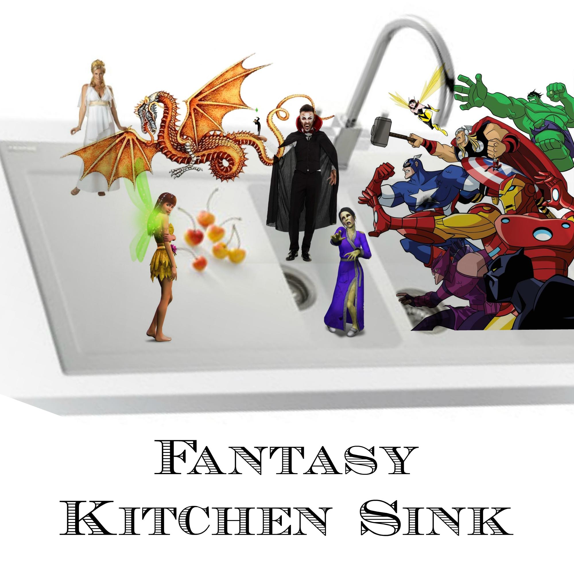 Fantasy Sink Kitchen