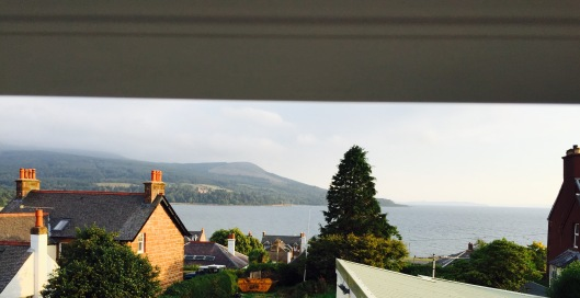 view from the loo, Arran