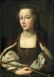 Margaret of Anjou (1430-1482), as portrayed in 1775 by Robert Davy