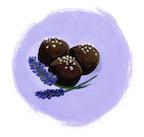 Lavender truffle--image by Ann Shen for Freutcake