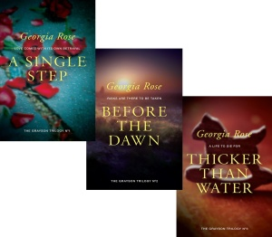 Check out my reviews of The Grayson Trilogy 1. A Single Step 2. Before the Dawn 3. Thicker Than Water