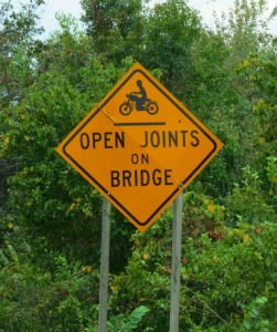 Washington, DC Presumably, if you take out your joints BEFORE the bridge, you'll be in trouble.