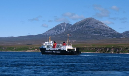 CalMac Isle of Arran Ferry [Image credit: © Copyright Gordon Hatton and licensed for reuse under Creative Commons Licence.]
