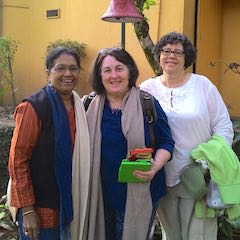 Jayalakshmi Ayyer, Barb Taub, and Janine Smith met at the University of Chicago and have been friends for over four decades. That's probably not a good excuse.