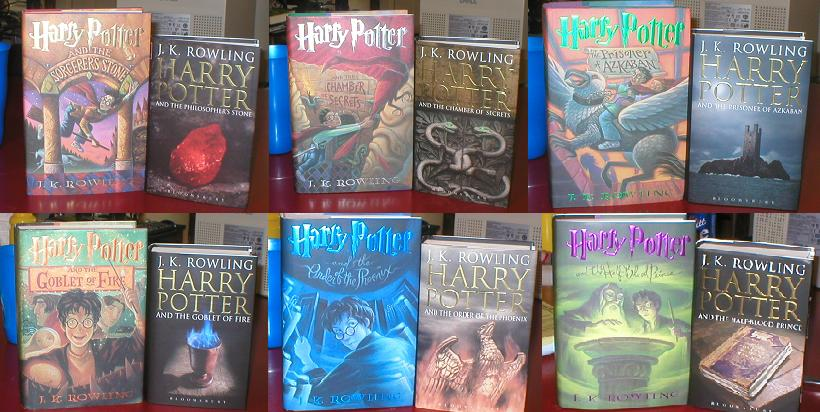 Harry Potter Book Covers Uk Vs Us ~ Judge these books by their us vs uk cover —