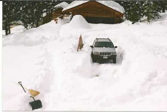 5.5 feet of snow Nederland