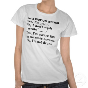 http://www.zazzle.ca/funny_fiction_writer_answer_sheet_t_shirt-235975668204548181
