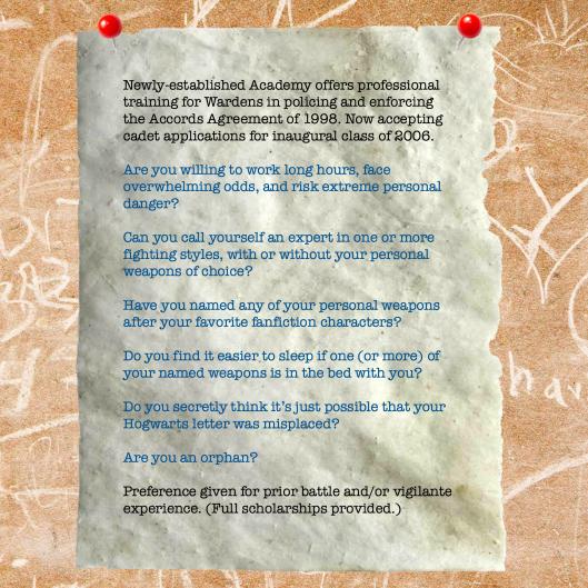 Accords Academy Recruitment Notice