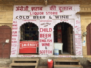 CHILD BEER? We saw these signs all over Rajasthan.
