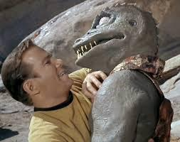 Captain Kirk makes out with a gargoyle. You're welcome, Lynn. [image credit: Zand's Weird World] https://www.google.co.uk/url?sa=i&rct=j&q=&esrc=s&source=images&cd=&cad=rja&uact=8&ved=0ahUKEwi0noeB3v3MAhXIC8AKHamyCC4QjhwIBQ&url=http%3A%2F%2Fleelee-zand-me.tumblr.com%2Fpage%2F3&bvm=bv.123325700,d.ZGg&psig=AFQjCNGmlKqvD9Hxyn3W_Ht5Fh0pFa5wFg&ust=1464557854943049