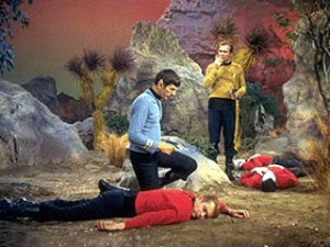[image credit: Wikipedia] https://en.wikipedia.org/wiki/Redshirt_(character)