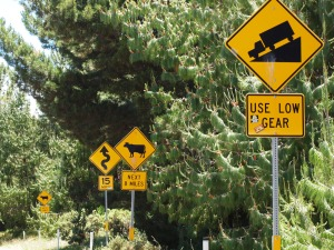 Maui road signs