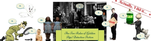 'Father Knox's Decalogue: The Ten Rules of (Golden Age) Detective Fiction'