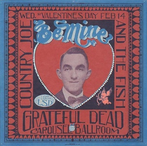 Grateful Dead concert poster - 2/14/68 Carousel Ballroom, San Francisco [image credit: Zoooma] https://www.flickr.com/photos/zoooma/2264649871