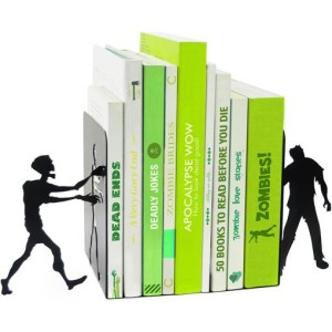They like you for your brainzzzz. [Image credit: The Literary Gift Company] https://www.theliterarygiftcompany.com/collections/bookends-and-shelving/products/zombie-bookends