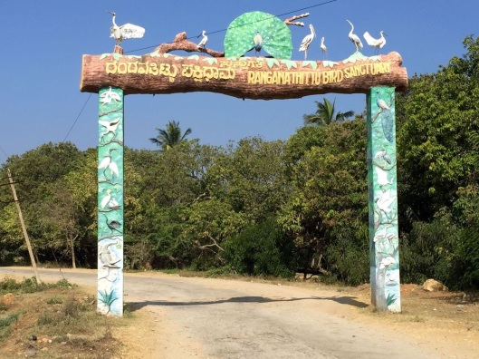 Entry to bird sanctuary. Or, in our case, the first stop.