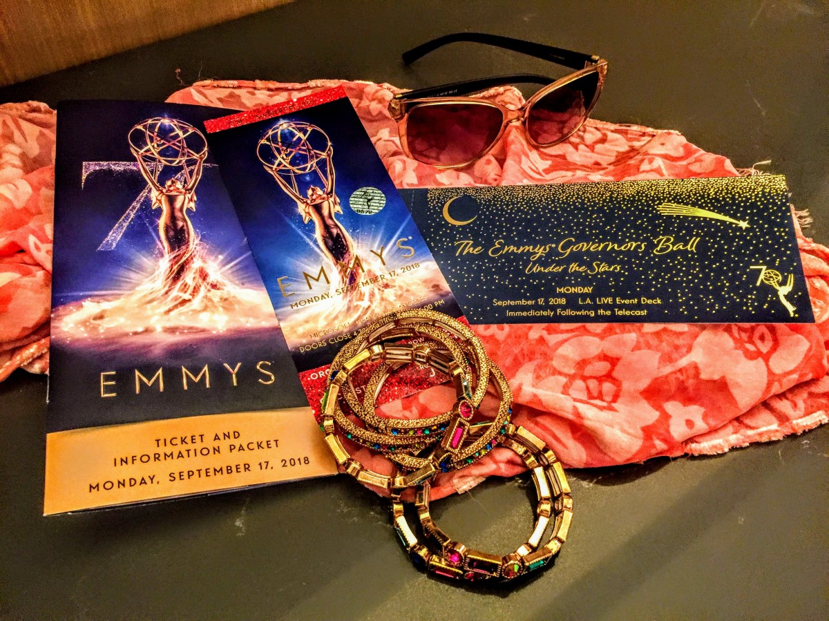 My night at the #Emmys. Plus WIN vaguely themed prizes. Emmys Part 2 #humor #travel #giveaways