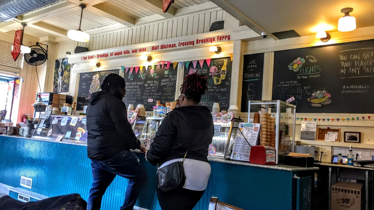 #Brooklyn—home of World's 2nd-Greatest Ice Cream. And... er...this.  #humor #travel