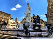 Neptune Fountain Piazza della Signoria